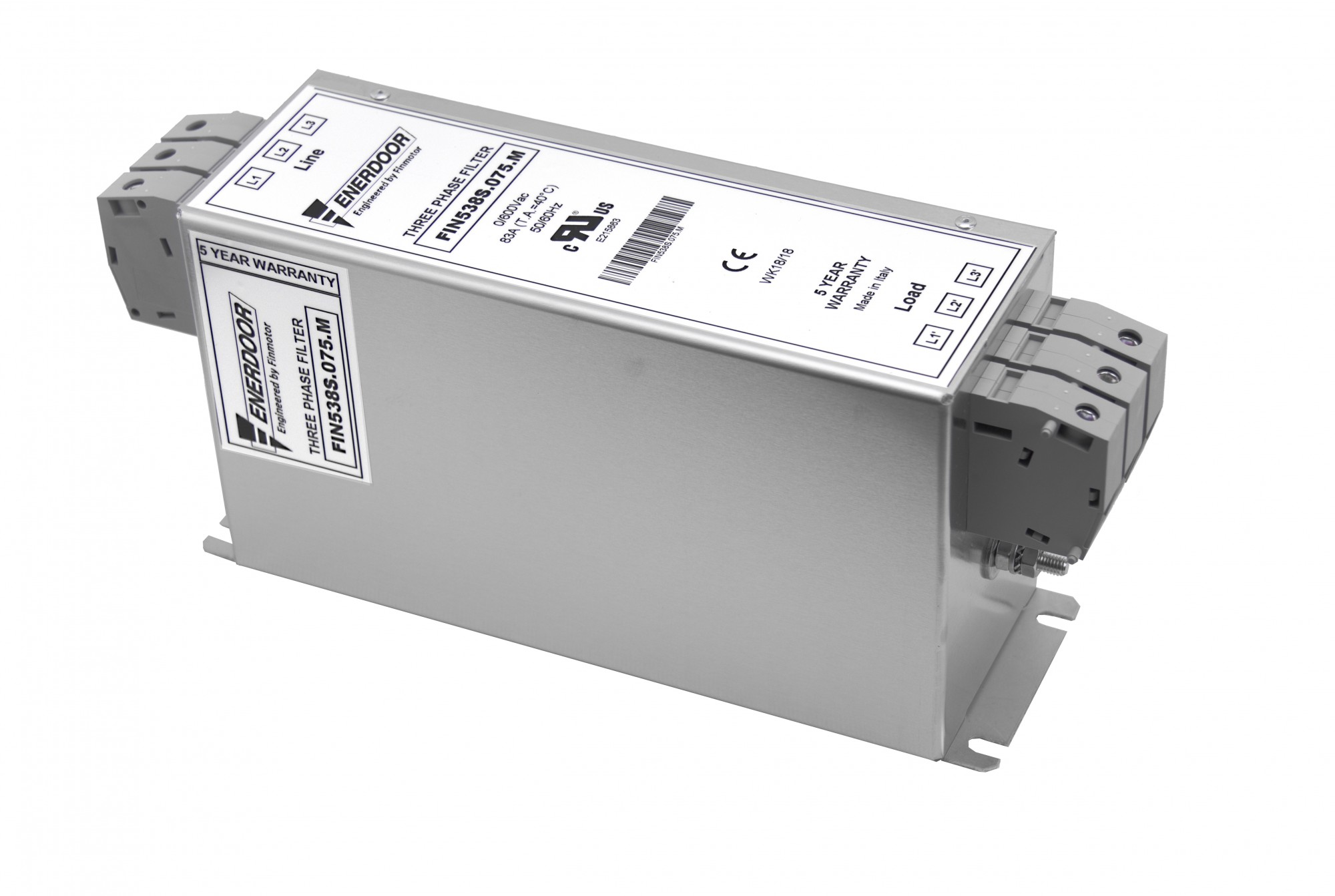 Details about  /100/% WARRANTY Finmotor FIN538S1.075.M Three Phase Filter